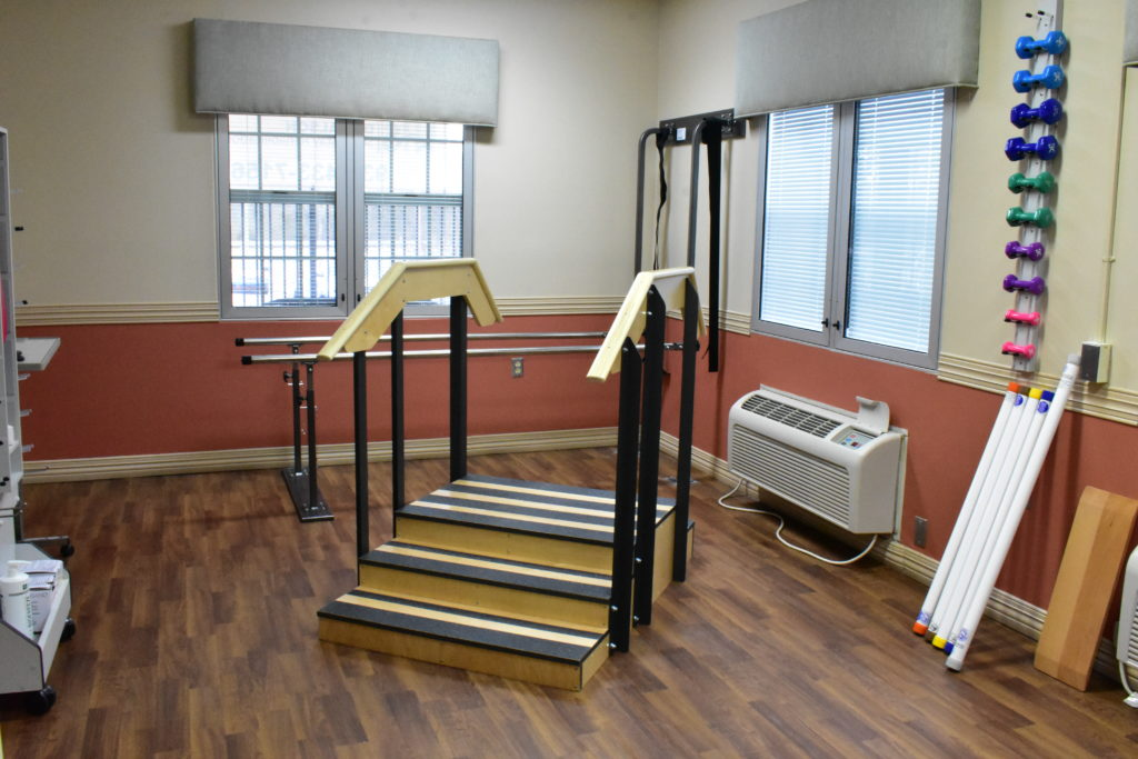 1 of 2 spacious therapy rooms